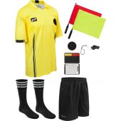 10 Piece Soccer Referee Kit New Official USSF Style