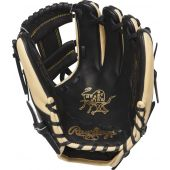 """11.25-Inch Heart of the Hide Infield Glove - 11 1/4"""" - BLACK/CAMEL"""