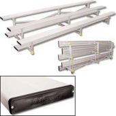 15' Bleachers Preferred Tip N' Roll 3 Row With Color  *