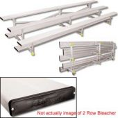 21' Bleachers Tip N' Roll 2 Row  *