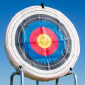 """48"""" Round Ethafoam Target With Replaceable Core 25lb"""