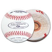 Adult Baseballs - Collegiate Specification Baseball - A Grade Leather Cover -(Case of One Dozen Balls)