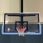 """Backboard - Perforated Poly-Carbonate - Rectangle  (72""""W x 42""""H )"""
