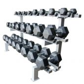Champion Adjustable Dumbbell Racks 12 pr. w/cradle