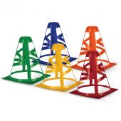 """Collapsible Cones - 12"""" - Scarlet"""