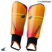 D1 Soccer Shin Guard - Orange
