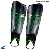 D1 Soccer Shin Guards - Black