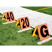 Flag Football Sideline Markers 5Pc Improved Day/Night  #