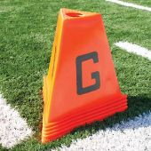 Football Sideline Markers - Poly 11Pc Football Sideline Marker