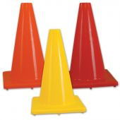 """Heavy Weight Collapsible Cones - 12"""" - Scarlet"""