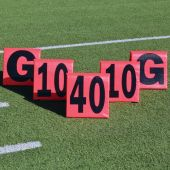 Improved Day/Night Football Field Sideline Markers 11Pc