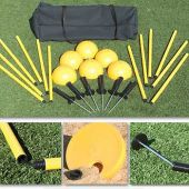 Indoor/Outdoor Agility Pole System