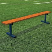 Player Bench - 7-1/2' - Portable - Powder Coated