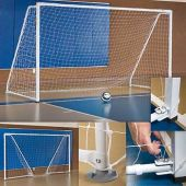 Portable, Foldable Indoor Soccer Goal (Pair)