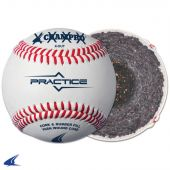 PRACTICE BASEBALL, FULL GRAIN LEATHER COVER - COSMETIC BLEM (While They Last)