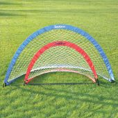"""Soccer Pop-Up Trainers with Bag (6'W x 3'4""""H x 3'4""""D) (Blue)"""