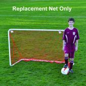 Soccer Practice Goal Replacement Net - Two-For-Youth Goal (Orange) (EA)