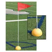 Spring Loaded Corner Flags