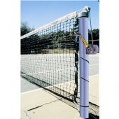"Tennis Posts - (3-1/2"" Post) (Outdoor) - Heavy-Duty Upright (Round) (Galvanized)"