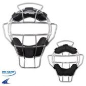 Umpire Mask - Silver Frame Light weight - 18 oz By Champro