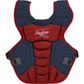 Velo 2.0 15.5 in Chest Protector (NOCSAE Approved) - NAVY/SCARLET