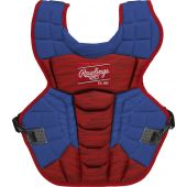 Velo 2.0 15.5 in Chest Protector (NOCSAE Approved) - ROYAL/SCARLET