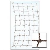 Volleyball Nets 2.0 MM Twisted PE 32'; Competition Net, PE Rope Cable Top