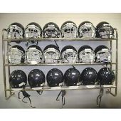 Wall Mounted football Helmet Rack