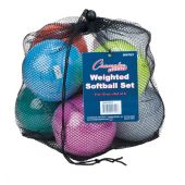 Weighted Training Softball Set Weighted from 5-12 oz Balls