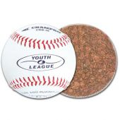 "Youth Baseballs - 8.5"" Youth Baseball - Genuine Leather Cover - (Case of One Dozen Balls)"