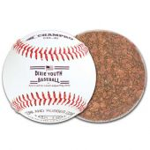 Youth Baseballs - Dixie Youth Approved Baseball - Genuine Leather Cover - (Case of One Dozen Balls)