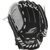 """Youth Sure Catch 10.5 in Baseball Glove - 10 1/2"""" - BLACK/GREY"""