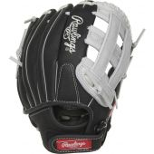 """Youth Sure Catch 11 in Baseball Glove - 11"""" - BLACK/GREY"""