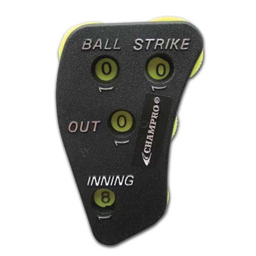 Baseball Umpire Equipment - 4-Dial Indicator - 12 in a Box
