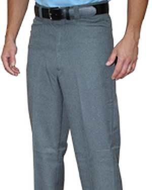 Flat Front Combo Pants with Western Cut Front Pockets Available in Heather Grey and Navy