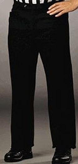 Basketball Referee Slacks - Women's Flat Front Pants with Western Cut Pockets Size 20