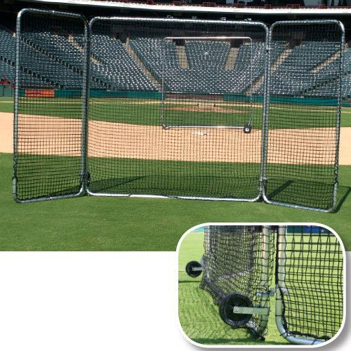 Tri-Fold Fungo Screen 8' x 16'