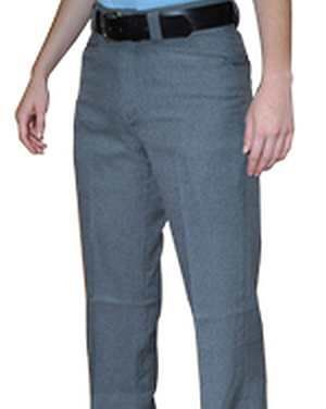 WOMEN'S Flat Front Combo Pants Available in Heather Grey Only Even Sizes: 4-20